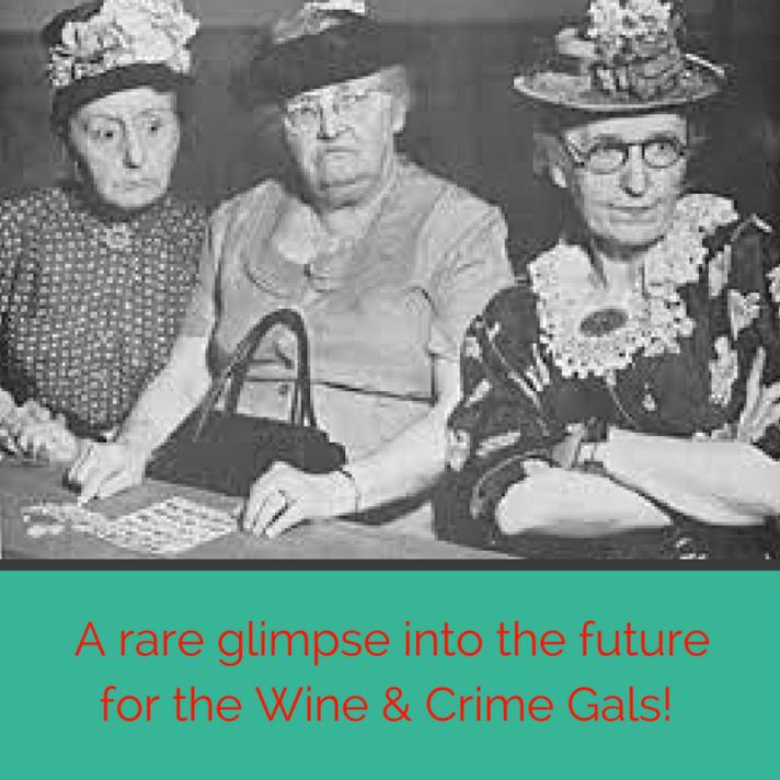 Come join the Wine & Crime Gals Boozy Bingo