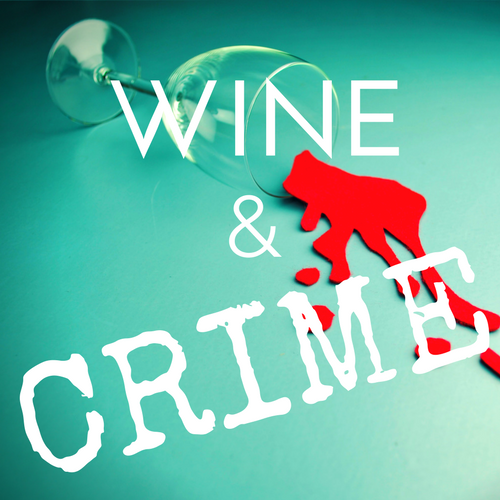 Wine & Crime Logo (White Text)